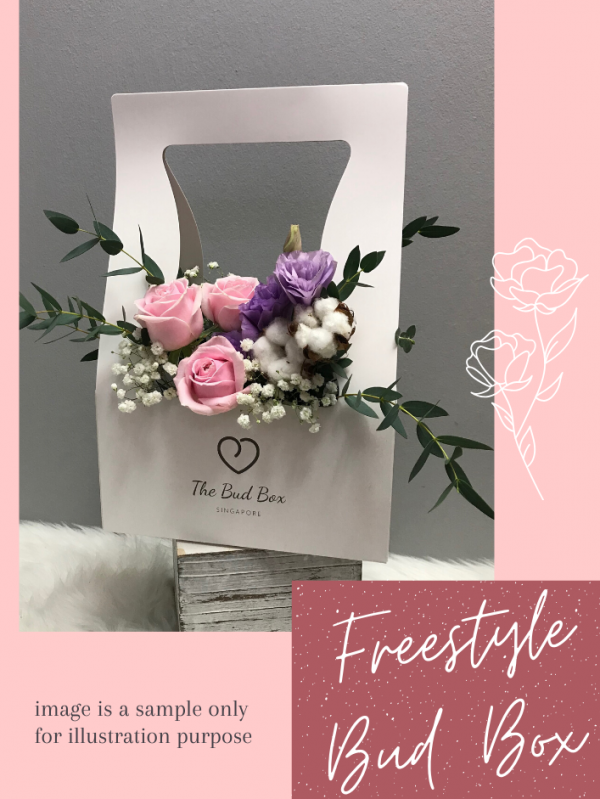 Mother's Day Flower Box Freestyle in Pink