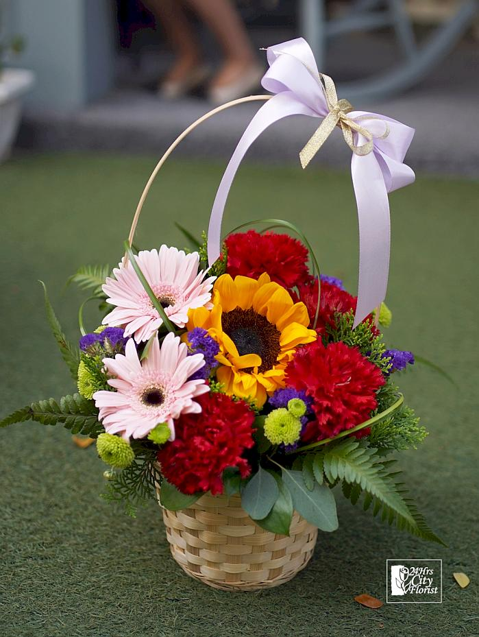 Mother's Day Flower Delivery, Sunflower, Carnation and Gerbera 3